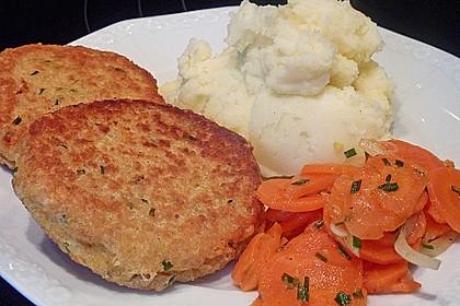 Couscous-Bratlinge mit Käse 15