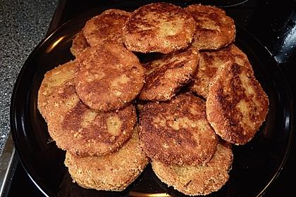 Couscous-Bratlinge mit Käse 33