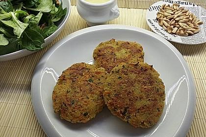 Couscous-Bratlinge mit Käse 28