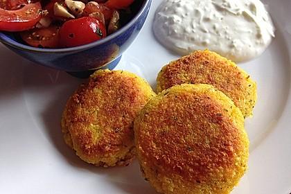 Couscous-Bratlinge mit Käse 6
