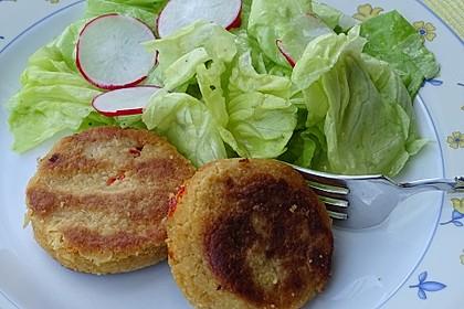 Couscous-Bratlinge mit Käse 26