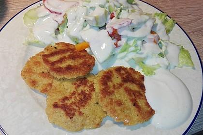 Couscous-Bratlinge mit Käse 59