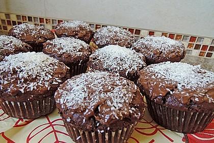 Schoko-Kokos-Nutella-Muffins 1