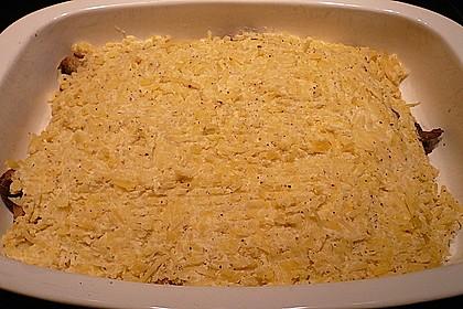 Putenschnitzel-Rösti Auflauf 6