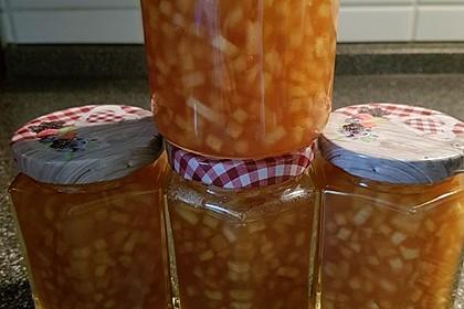 Winterliche Apfel-Ingwer Marmelade 4