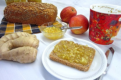 Winterliche Apfel-Ingwer Marmelade 1