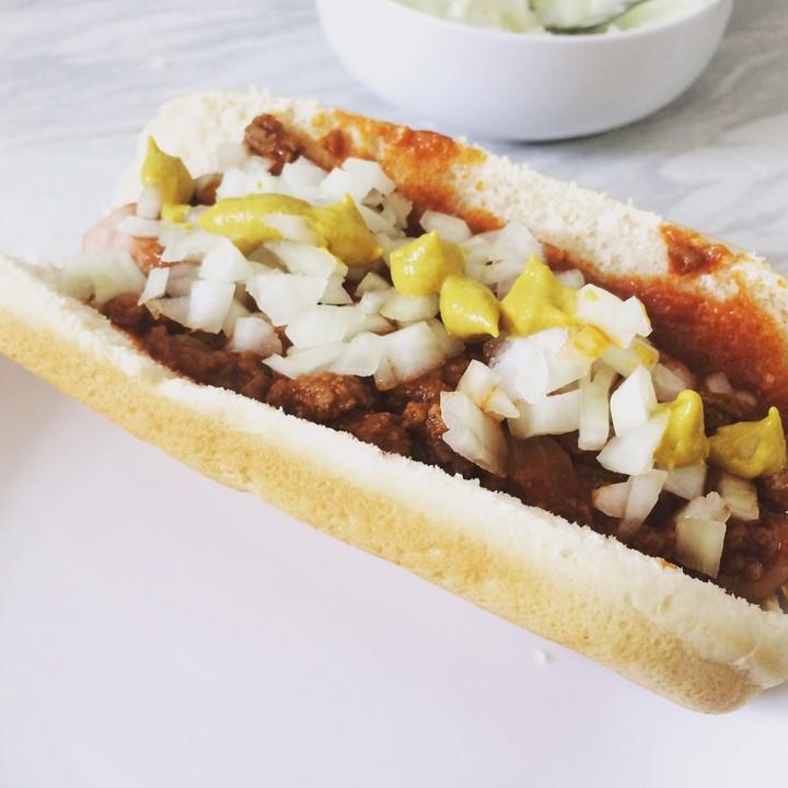 coney island chili hot dog sauce rezept mit bild. Black Bedroom Furniture Sets. Home Design Ideas