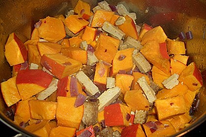 Kürbis-Erdnuss-Curry 2