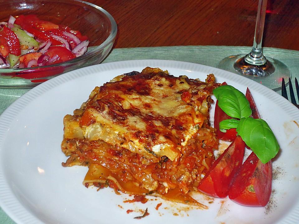 marinas hackfleisch zucchini lasagne rezept mit bild. Black Bedroom Furniture Sets. Home Design Ideas