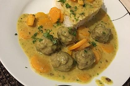 Hackbällchen in Möhren-Currysoße 6