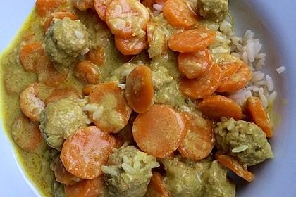 Hackbällchen in Möhren-Currysoße 19