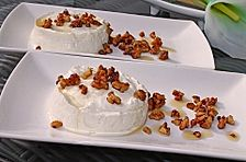 Vanille-Walnuss Dessert