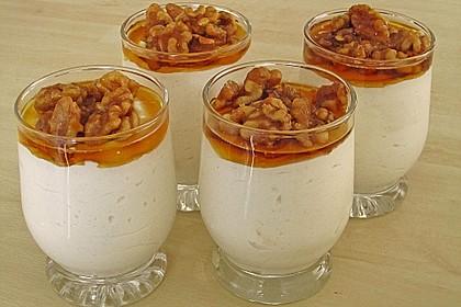 Vanille-Walnuss Dessert 2