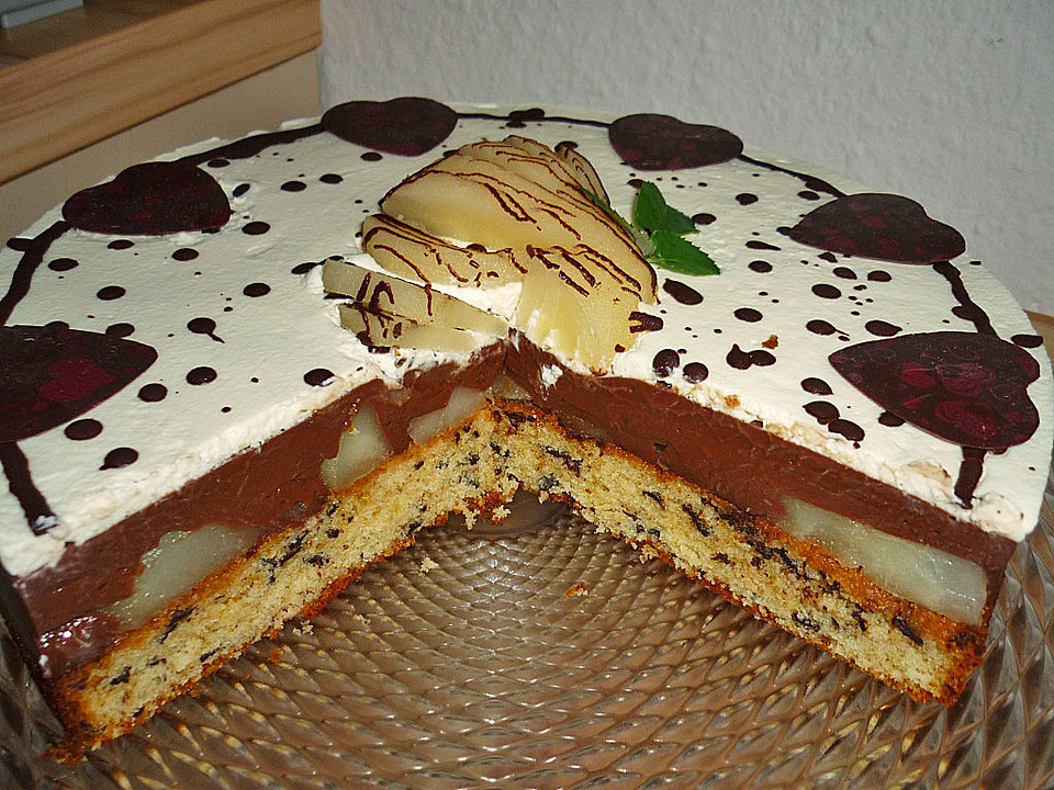 Birne helene kuchen blech appetitlich foto blog f r sie for Single kuchen komplett