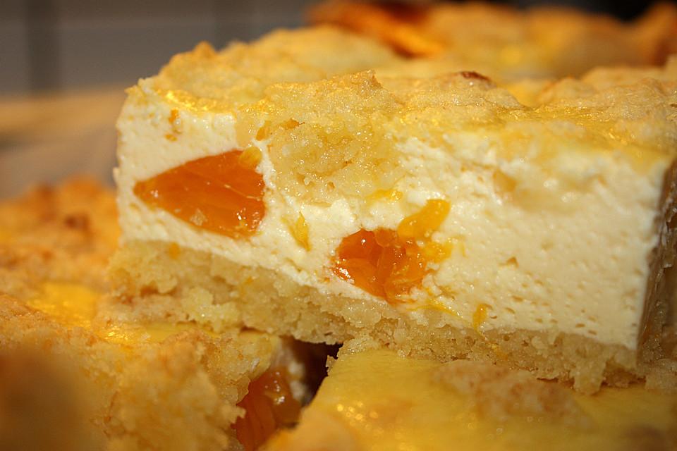Quark kuchen vom blech