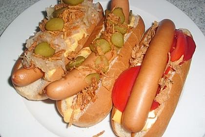 Amerikanische Hot Dog Buns Nr. 2 12