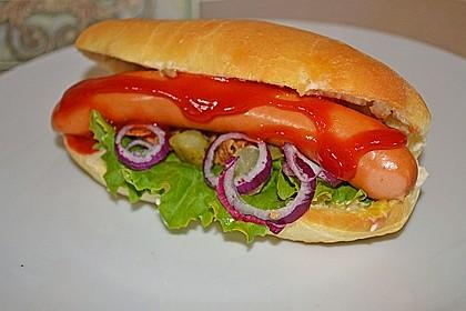 Amerikanische Hot Dog Buns Nr. 2