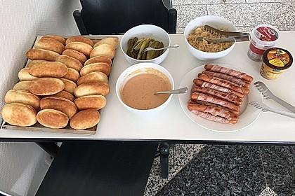 Amerikanische Hot Dog Buns Nr. 2 7