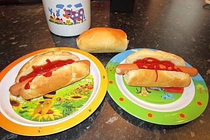 Amerikanische Hot Dog Buns Nr. 2 14