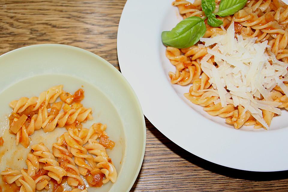 baby rezept spaghetti bolognese. Black Bedroom Furniture Sets. Home Design Ideas