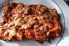 Vegetarische Lasagne mit Paprika und Zucchini