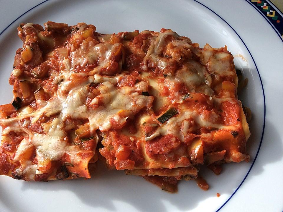 lasagne zucchini vegetarisch rezepte. Black Bedroom Furniture Sets. Home Design Ideas