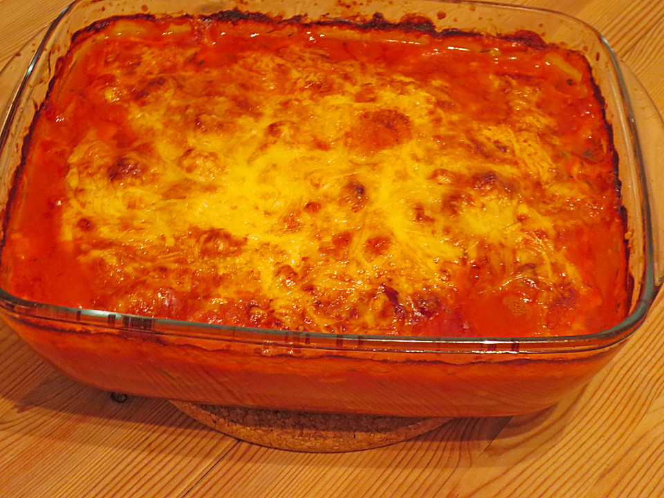 vegetarische lasagne mit paprika und zucchini rezept mit bild. Black Bedroom Furniture Sets. Home Design Ideas