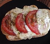 Sarahs ultimatives Tomaten-Mozzarella Baguette