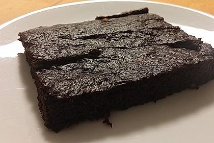 Lockerer Schokoladen-Blechkuchen