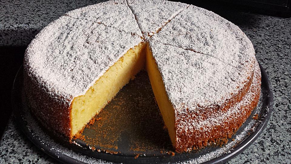 Elegant Italienischer Zitronenkuchen 1