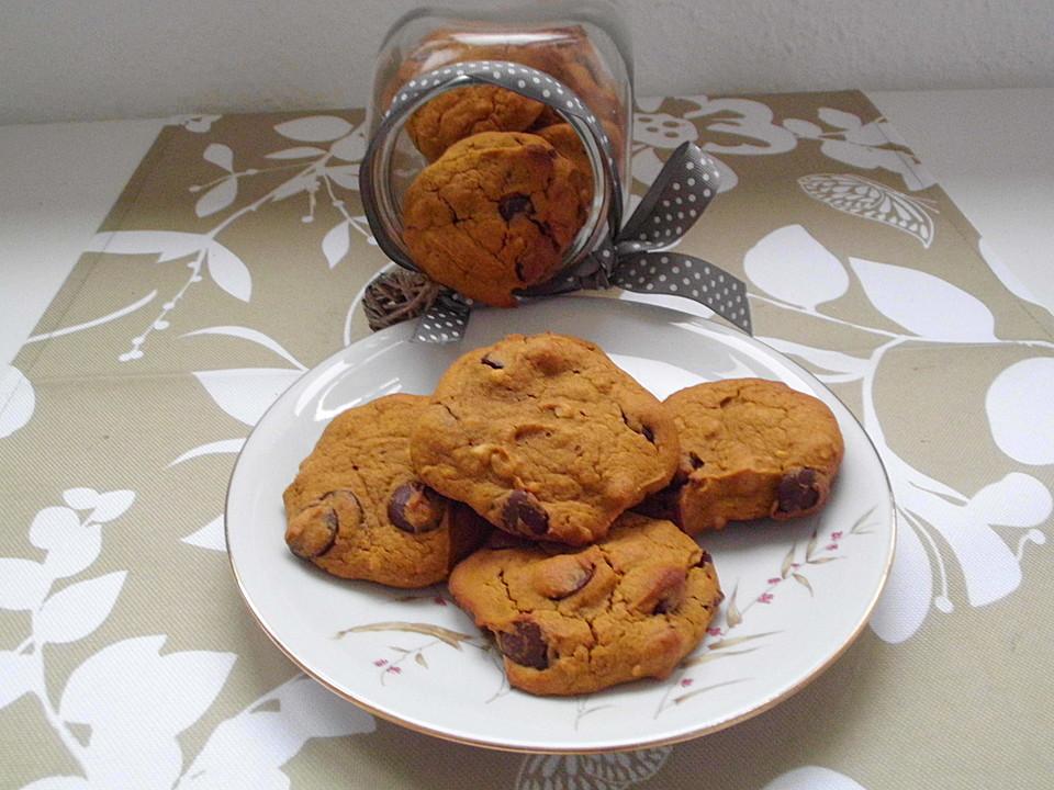 erdnussbutter k rbis kekse rezept mit bild von serenya. Black Bedroom Furniture Sets. Home Design Ideas