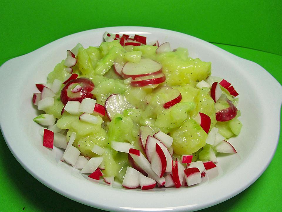kartoffel radieschen salat mit salatgurke und kr utern von kalinka0815. Black Bedroom Furniture Sets. Home Design Ideas