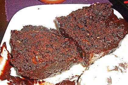 Hot Brownie-Kuchen aus der Tasse 6