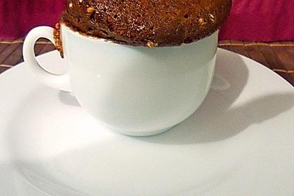Hot Brownie-Kuchen aus der Tasse 2