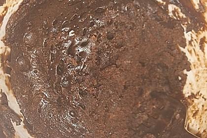Hot Brownie-Kuchen aus der Tasse 5