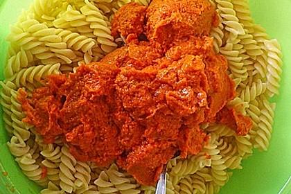 Nudelsalat mit Pesto Rosso 1