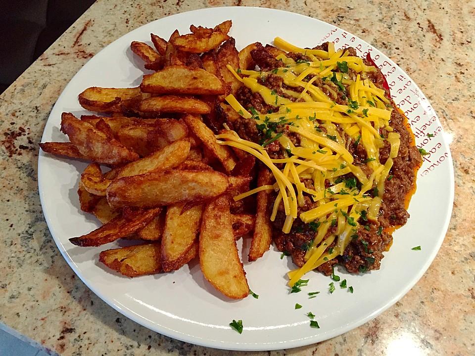 Amerikanische Chili-Cheese Fries von sukeyhamburg17 | Chefkoch.de