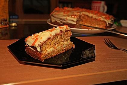 Norwegischer Möhrenkuchen