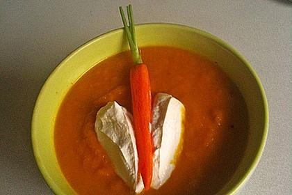 Möhren-Orangen-Suppe 2