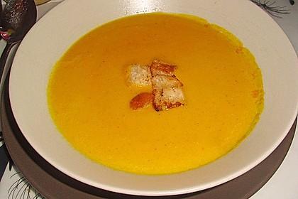 Möhren-Orangen-Suppe 3