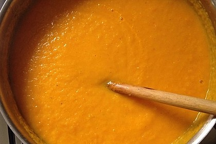 Möhren-Orangen-Suppe 5