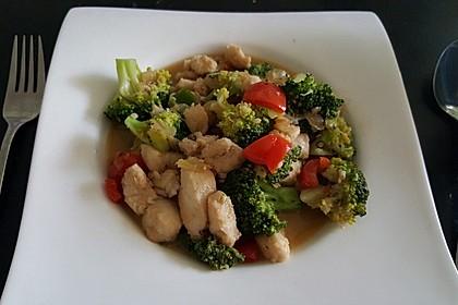 Fisch-Gemüse-Pfanne mit Kokosmilch, Low carb 31