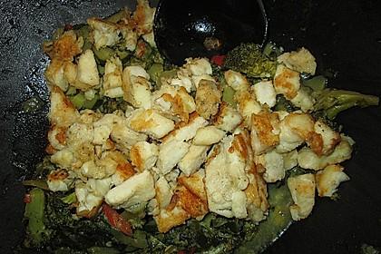 Fisch-Gemüse-Pfanne mit Kokosmilch, Low carb 59