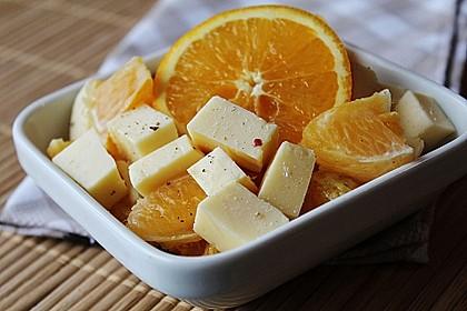 Orangen-Käse Salat 1