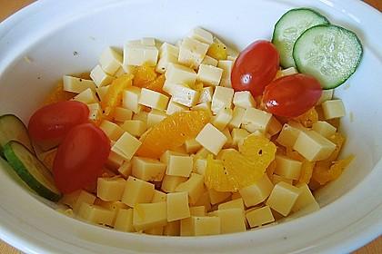 Orangen-Käse Salat