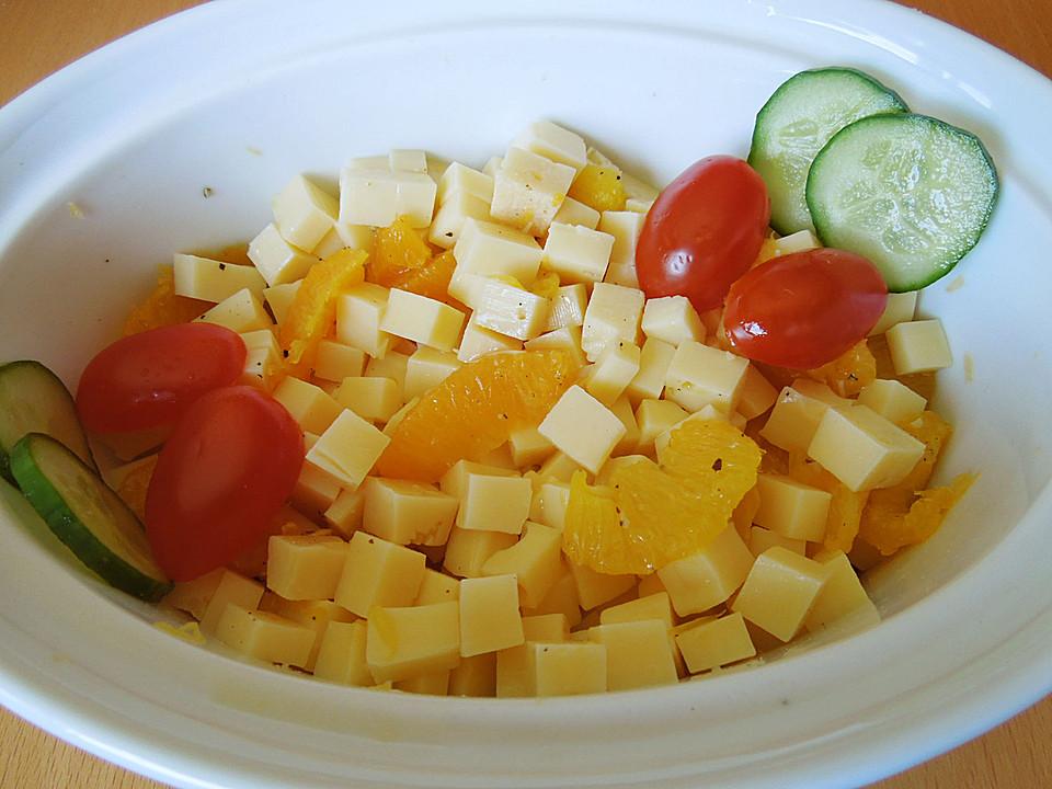 orangen k se salat rezept mit bild von chr2604. Black Bedroom Furniture Sets. Home Design Ideas