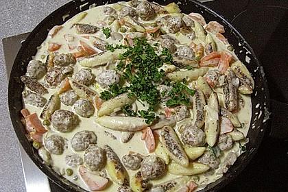 Schupfnudel-Zucchini-Hack-Pfanne 1