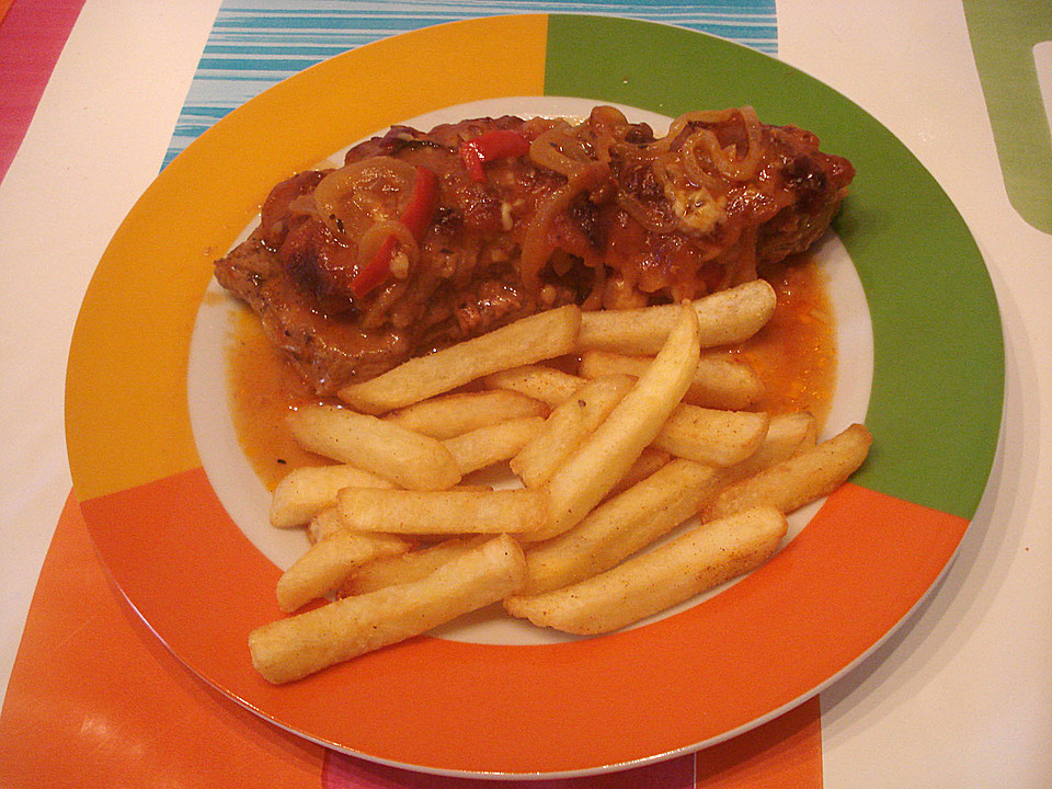 Zigeunerschnitzel Aus Dem Ofen Von Riga53 Chefkoch De