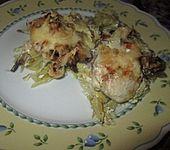 Hähnchen-Wirsing-Pfanne