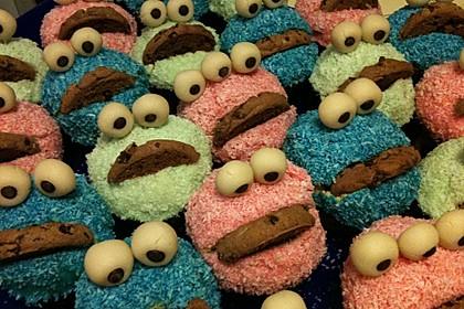 Krümelmonster Cupcakes 160